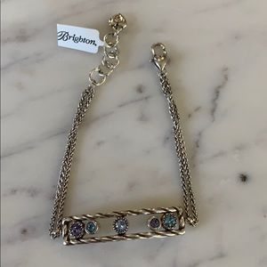 Jewelry - NEW Jeweled Sliding Bar Bracelet